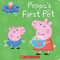 粉红猪小妹:第一个宠物【现货】英文原版童书纸板书 Peppa's First Pet 小猪佩奇