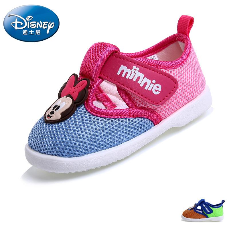 童旅游鞋2016春季新款米老鼠镂空男女宝宝鞋学步鞋
