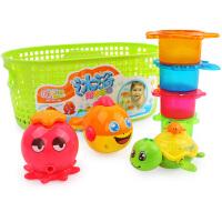 橙爱 沐浴嬉水乐园 宝宝洗澡戏水玩具 儿童益智玩具