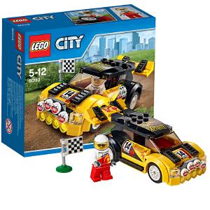 [当当自营]LEGO 乐高 城市系列 拉力赛车 积木拼插儿童益智玩具 60113