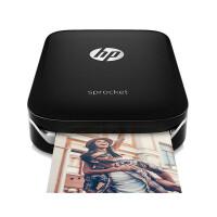 惠普(hp) sprocket100 手机照片打印机家用迷你便携式彩色相片冲印机 替代佳能CP1200 黑色