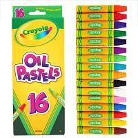 Crayola绘儿乐 儿童16色油画棒叠色混色蜡笔宝宝涂鸦绘画画笔  52-4616