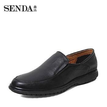 Senda/森达夏季专柜同款牛皮男单鞋FE102BM5 专柜1