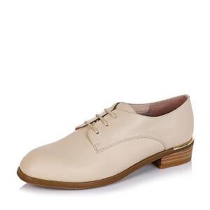 BASTO/百思图专柜同款牛皮女单鞋TYF21CM6