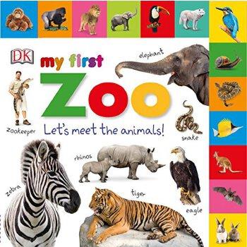 标签板书:我的第一动物园:让我们认识动物!