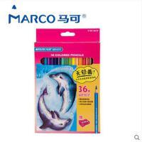 【Marco马可】专业书写学生涂色绘画36色水溶彩色铅笔色4120-36CB