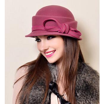 时尚女士帽子编织教程