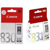 佳能(Canon)PG-830 黑色墨盒,CL-831 彩色墨盒  套装(适用佳能 iP1180/iP1880/iP1980/iP2580/iP2680 佳能 MP145/MP198/MP228/MP476 佳能 MX308/MX318 )