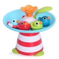 幼奇多音乐小鸭子喷水花洒宝宝戏水洗澡玩具儿童玩水玩具2-6岁