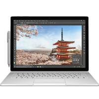 微软 Surface Book 13.5英寸二合一平板笔记本 Intel i7 8G内存 256G存储 GTX965-2G独显 增强版 Win10银色官方标配