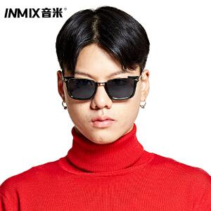 Inmix百搭街头复古墨镜 女 明星款太阳眼镜 潮人男司机户外太阳镜潮