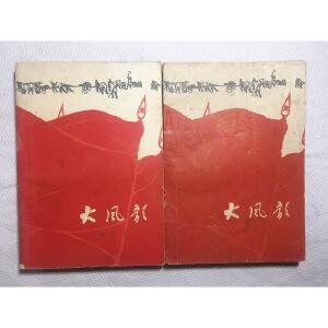 大风歌 全两册  杨颂东1967年题跋 批注
