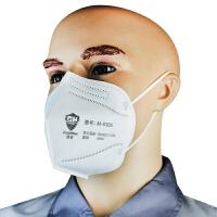 冠桦 折叠式颗粒物防护口罩 防雾霾 PM2.5 工业粉尘 防尘口罩 头戴式