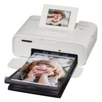 佳能CP1200手机照片打印机家用迷你无线便携式彩色相片旅行游玩冲印机910 白色