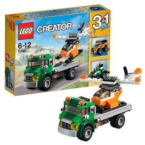 [当当自营]LEGO 乐高 Creator创意百变系列 直升机运输车 积木拼插儿童益智玩具31043