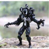 好运连 漫威超凡蜘蛛侠毒液复仇者联盟可动公仔人偶玩具礼品模型