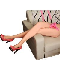 谜姬男用腿模下半身倒模名器1:1实体娃娃非充气硅胶撸萝莉性玩偶 骨架腿模实体娃娃