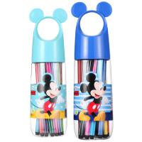 迪士尼(Disney)儿童水彩笔24色可水洗无毒D01388颜色随机 宝宝画笔幼儿涂鸦小学生创意笔 当当自营