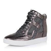 Teenmix/天美意专柜同款羊皮女短靴L6QJ4CD5
