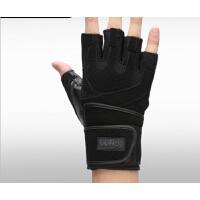 男女健身房半指运动手套锻练哑铃举重护腕防滑  健身手套