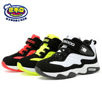 巴布豆童鞋 男童鞋2016秋季新款中童鞋高帮学生篮球鞋男童运动鞋