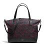 【当当自营】蔻驰(COACH)新款尼龙碎花女士手提包购物袋斜挎女包 F59433