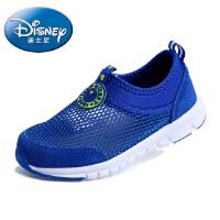迪士尼儿童鞋2016春季新款镂空网鞋毛毛虫童鞋男童鞋米奇运动鞋休闲跑步鞋