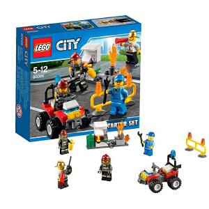 [当当自营]LEGO 乐高 CITY城市系列 消防入门套装 积木拼插儿童益智玩具 60088