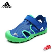 阿迪达斯/adidas童鞋夏款儿童男童运动凉鞋沙滩鞋女 BB5413/BB5414