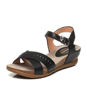 BATA/拔佳夏季专柜同款小牛皮女凉鞋(超软)AB405BL6