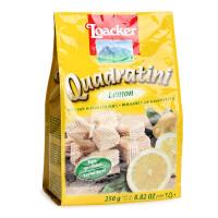 意大利Loacker莱家 柠檬味粒粒装威化饼干250g 宝宝零食饼干