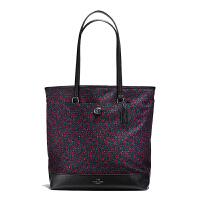 【当当自营】蔻驰(COACH)新款时尚碎花尼龙手提包购物袋单肩斜挎女包 F59435