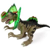 文盛  会走路发声电动恐龙玩具 鸡冠龙5310