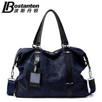 (可礼品卡支付)波斯丹顿男包横款手提包潮迷彩休闲男士包袋时尚青年电脑包休闲包B154913