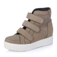 Bata/拔佳专柜同款磨砂牛皮女休闲靴(超软)AJ942DD5