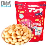 日本进口 森永蒙奈小馒头42g 零食马铃薯饼干波波饼饼干