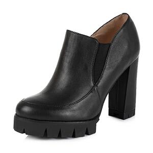 Belle/百丽秋专柜同款牛皮革女单鞋P6D1DCM5