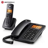 【当当热销】摩托罗拉 电话机 C4200C 数字无绳来电显示电话机欧式家用子母机远距离