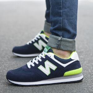 2017新品新款韩版N字鞋男鞋潮流鞋阿甘鞋子男士休闲运动鞋板鞋A1681DRJD