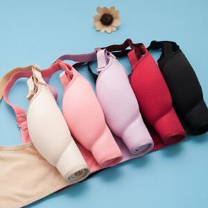 新款美人条包边无钢圈聚拢文胸侧收调整型女士内衣