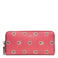 【当当自营】蔻驰(COACH)时尚女士新款樱花图案手拿包卡包钱包  F56487