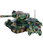 锋源 多功能遥控变形坦克 智能机器狗带音乐 儿童遥控玩具28161