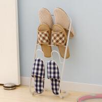 【可货到付款】欧润哲 创意多层鞋架 白色简易鞋架拖鞋架 收纳鞋架浴室拖鞋架