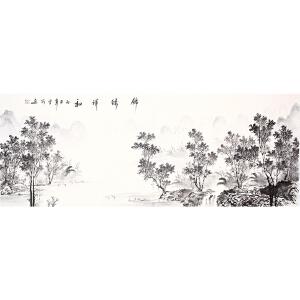 北京国画艺术家协会副会长  北京国画艺术家协会彩墨画院院长  中国徐悲鸿画院山水工作室副主任  曾刚《锦绣祥和》二