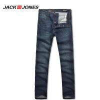 杰克琼斯春季男士简约休闲时尚直筒水洗牛仔裤27-5-2-216132023160