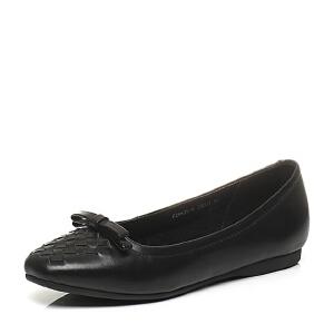 BATA/拔佳春季专柜同款牛皮舒适女休闲鞋9835-AQ6