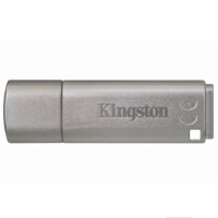 Kingston/金士顿 DTLPG3 16G 优盘硬件加密金属 U盘 银灰 USB3.0