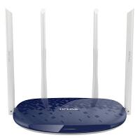 包邮 TP-LINK TL-WR886N 450M无线路由器 wifi穿墙王家用AP三天线中继桥接随身wifi 智能无线信号放大器扩展器发射器小区宽带光纤 宝蓝色