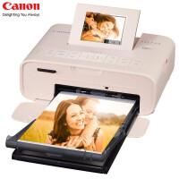 佳能CP1200手机照片打印机家用迷你无线便携式彩色相片旅行游玩冲印机910 粉色