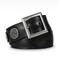 【当当自营】  阿玛尼(Armani)时尚男士铆钉皮带腰带